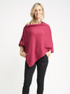 Jewel Tones | Poncho - Cashmere - Queen & Grace