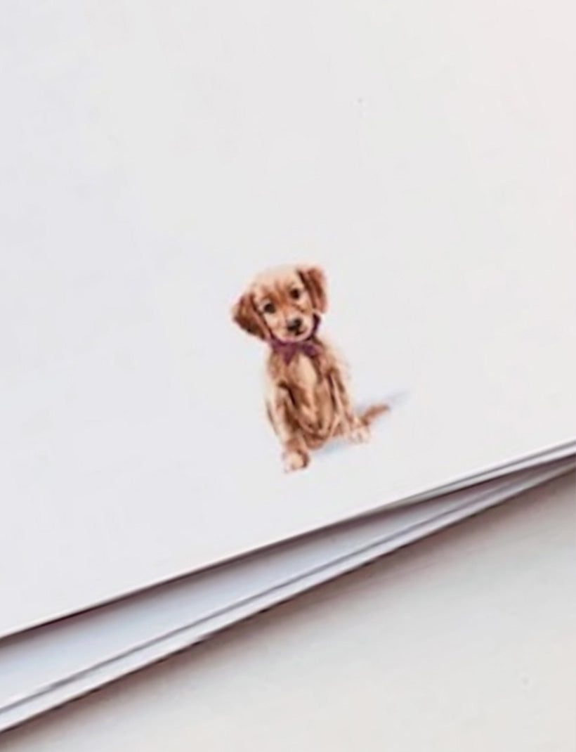 PUPPY DOG | Flat Panel Cards