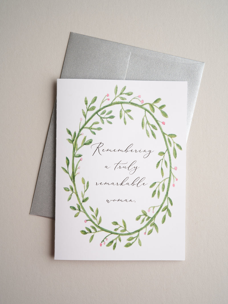 SYM-20-05 | Remarkable Woman - Greeting Cards - Queen & Grace