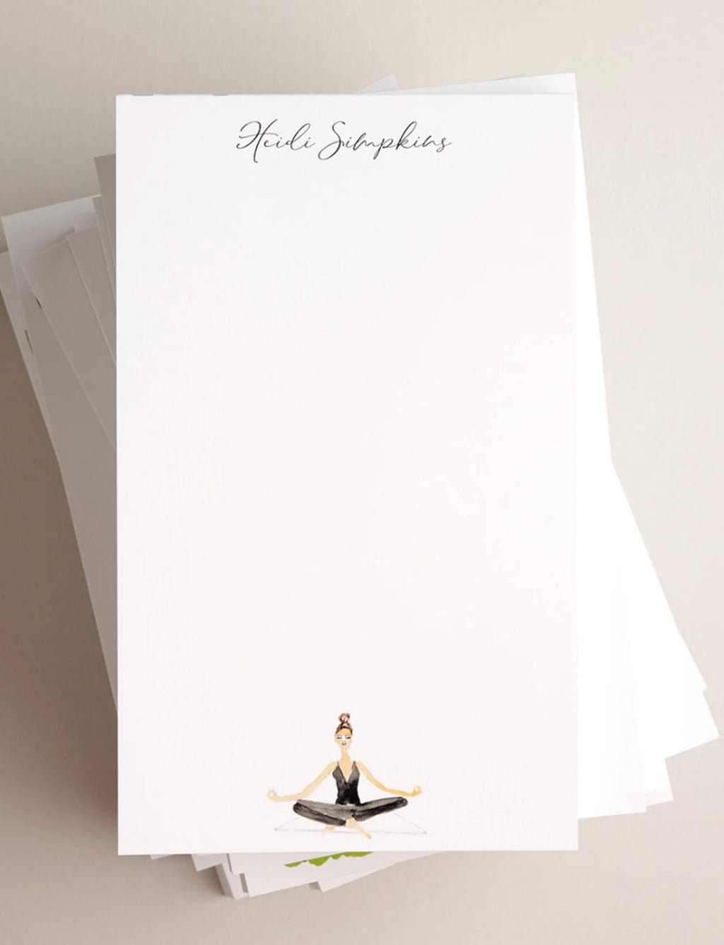 NOTEPAD | Yoga Seated - Notepads - Queen & Grace