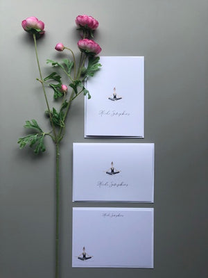 Stationery Package #5 with Yoga Girls - [product_type] - Queen & Grace