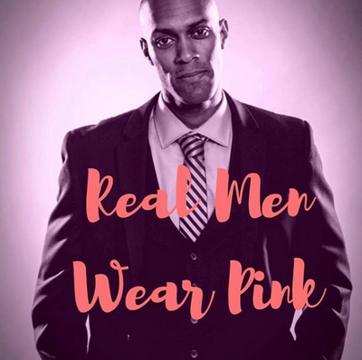 Real Men Wear Pink - Charlotte