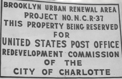 Fact Friday 217 - How a black community was erased from uptown Charlotte