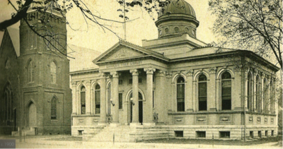 Fact Friday 41 - First Baptist Church and Carnegie Library