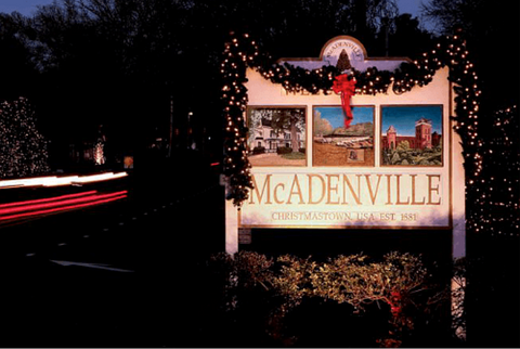 mc adenville single guys The internationally famous mcadenville christmas lights will bring thousands of visitors to gaston county each night through december 26th.