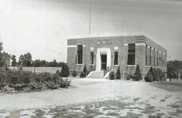 Fact Friday 82 – The Carolina's First TV & Radio Station – 704 Shop