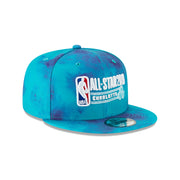New Era Official 2019 NBA All-Star Game Charlotte Tie Dye 950 Snapback - Purple/Teal