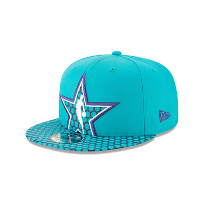 New Era Official 2019 NBA All-Star Game Oversized Star 950 Snapback - Teal/Honeycomb