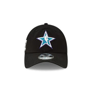 New Era Official 2019 NBA All-Star Game Logo Star 920 Dad Hat - Black