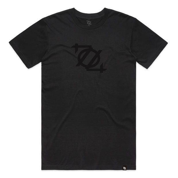 704 Shop Logo Tee - Blackout (Unisex) (Black Friday Limited Edition)