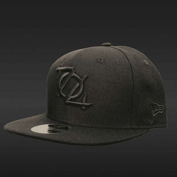 *Limited Edition* 704 Shop Logo 950 Snapback - Blackout Edition