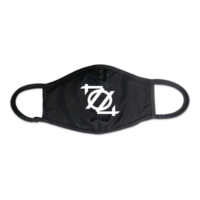704 Shop 704 Logo Face Mask - Black/White