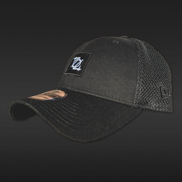 *Limited Edition* 704 Shop Logo Patch 3930 Fitted Hat - Blackout Edition