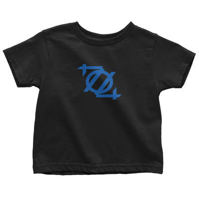 704 Shop Logo Tee - Black/Blue (Toddlers/Youth)