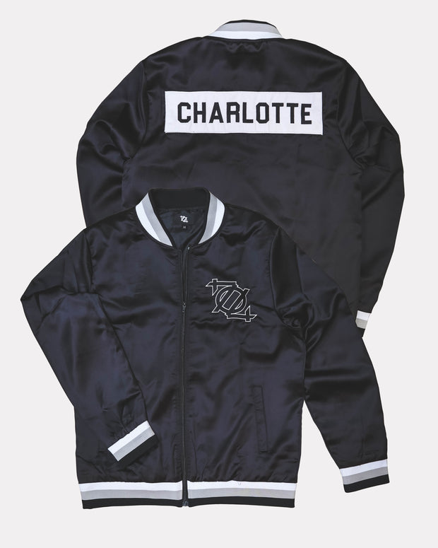 704 Shop Team Jacket - Black/White (Unisex)