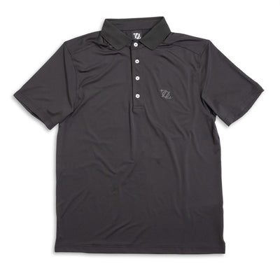 704 Shop Essential Performance Polo - Black