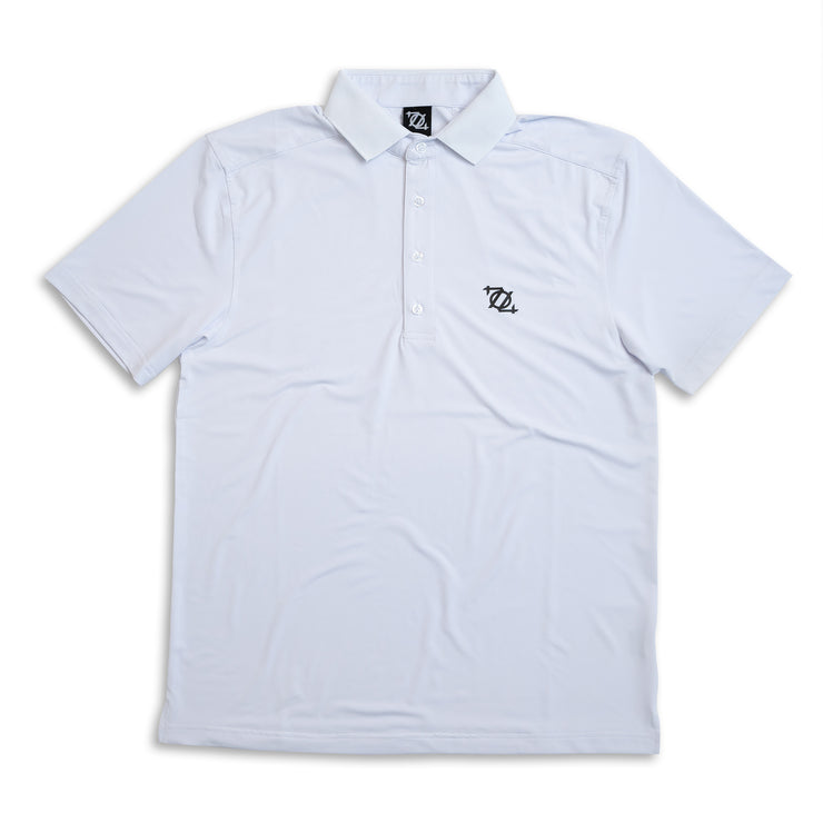 704 Shop Essential Performance Polo - White