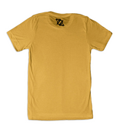 704 Shop QC Smiley Tee - Mustard (Unisex)