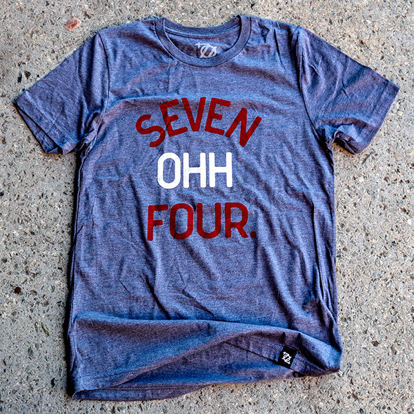 704 Shop Seven OHH Four Shirt - Red, White, Blue (Unisex)