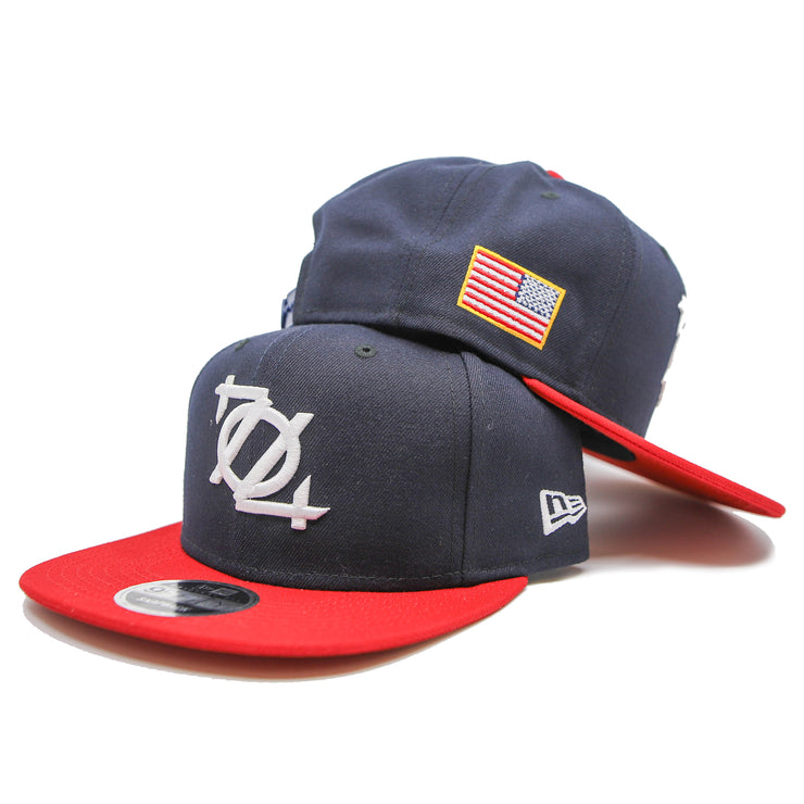 704 Shop 704th of July Logo Snapback Hat (Limited Edition)