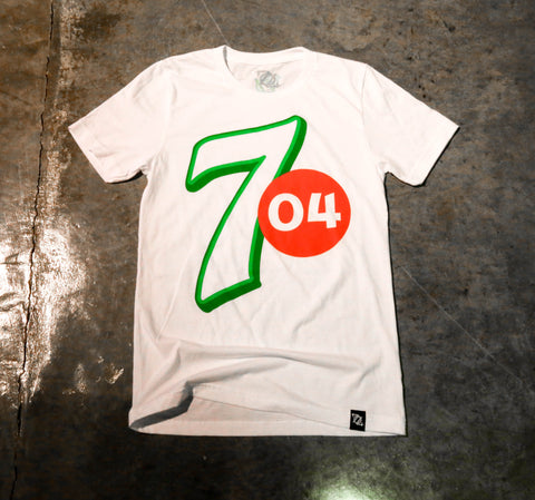 "** LIMITED EDITION 704 Shop ""Make 704 Yours"" Tee - White (Unisex) **"