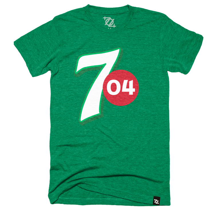 "704 Shop ""Make 704 Yours"" Tee - Green (Unisex)"