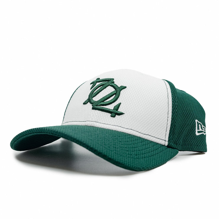 704 Shop x New Era 3930 Fitted Logo Cap - Green/White