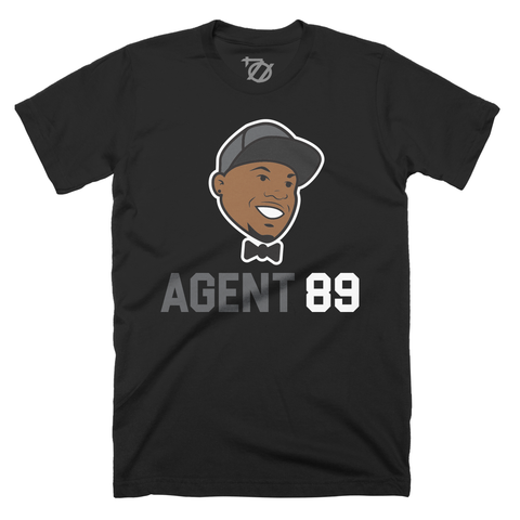 704 Shop Agent 89 Tee - Black Heather (Unisex)