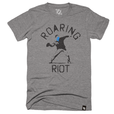 *704 Shop x Roaring Riot - Football Graffiti Tee (Unisex)