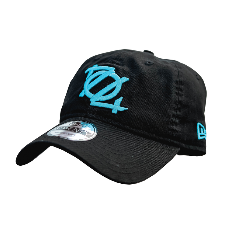 704 Shop x New Era Logo 920 Dad Hat (Black/Blue)