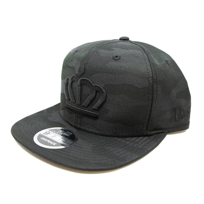 704 Shop Black Camo 950 Official Crown Snapback Hat (Black Friday Limited Edition)