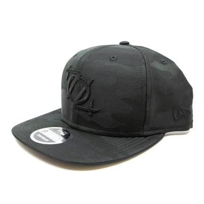 704 Shop Black Camo 950 704 Logo Snapback Hat (Black Friday Limited Edition)