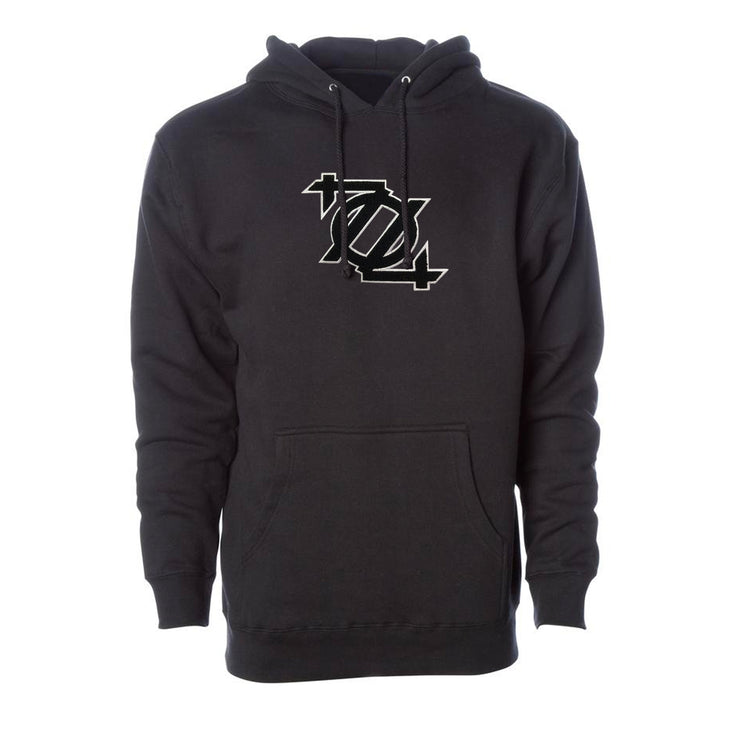 704 Shop Premium Chenille Logo Hoodie - Heavyweight Black (Unisex)