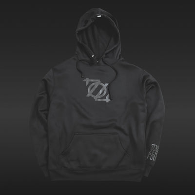 *Limited Edition* 704 Shop Logo Performance Sport Hoodie - Blackout Edition (Unisex)