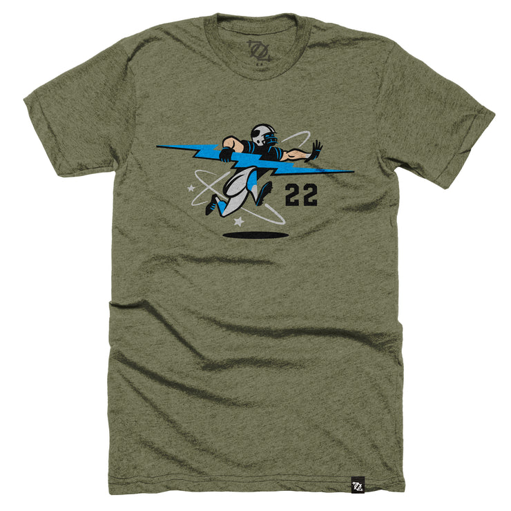 704 Shop x Matt Stevens - Black and Blue 022 Tee (Unisex)