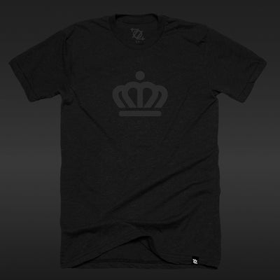 *Limited Edition* 704 Shop x City of Charlotte Official Crown Tee - Blackout Edition (Unisex)