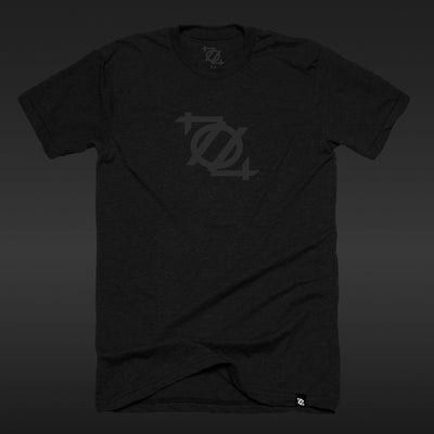 *Limited Edition* 704 Shop Logo Tee - Blackout Edition (Unisex)