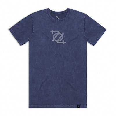 704 Shop 704 Logo Tee - Stonewashed Navy (Unisex)