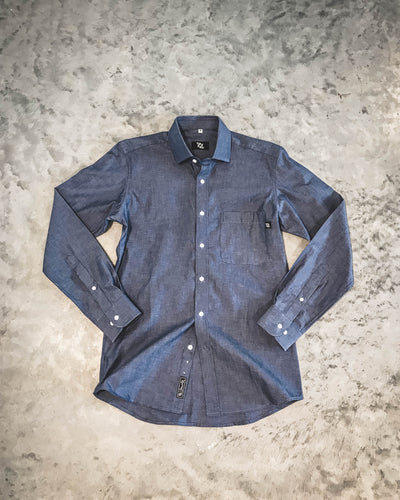 704 Shop Premium Button Up - Blue Chambray (Men's)