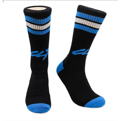 704 Shop CLT 2003 Sport Socks Black/Blue/White