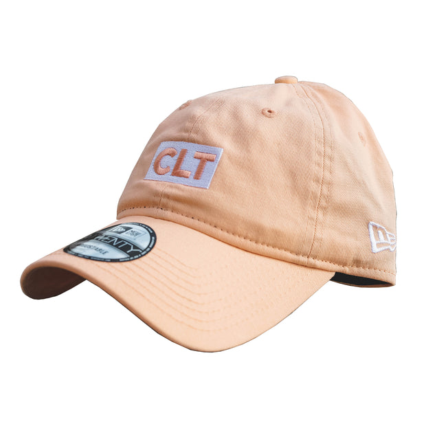 704 Shop x New Era CLT Box 920 Dad Cap - Peach