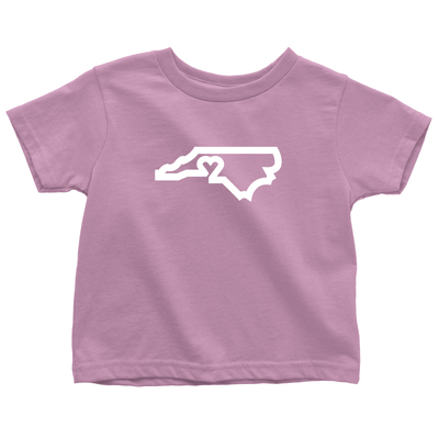 704 Shop CLT Love Tee - Pink (Toddlers/Youth)