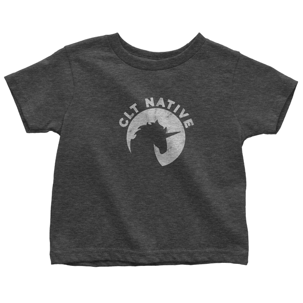 704 Shop CLT Native Tee - Heather Black/Charcoal (Toddlers/Youth)