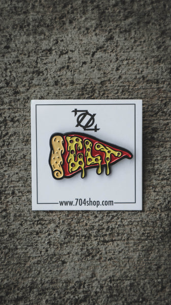 704 Shop CLT Pizza Enamel Pin (Limited Edition)