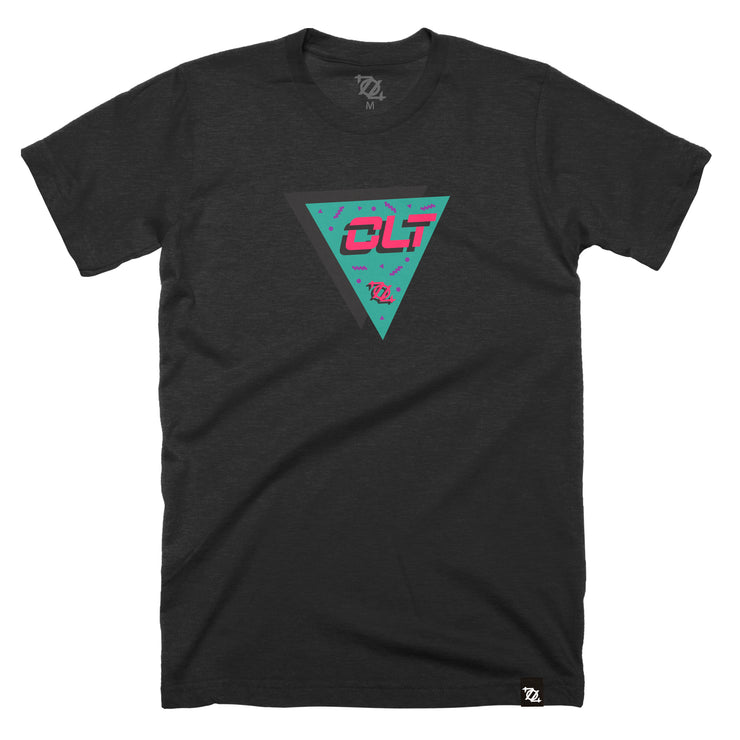 704 Shop CLT in the 90's Tee - Black Heather (Unisex)