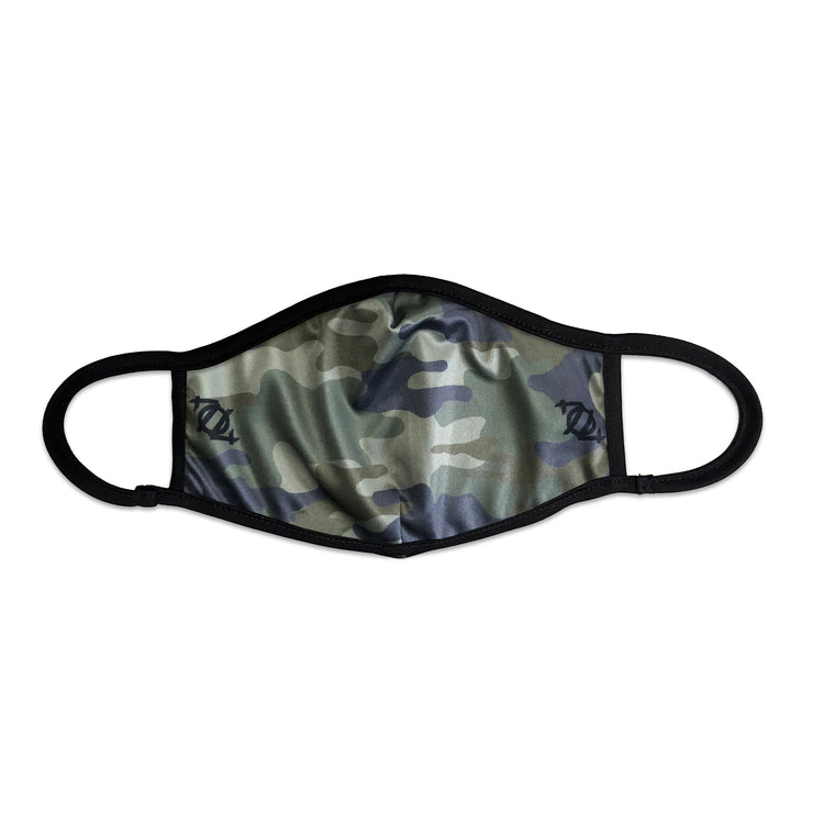 704 Shop Camo Face Mask - Camo/Black
