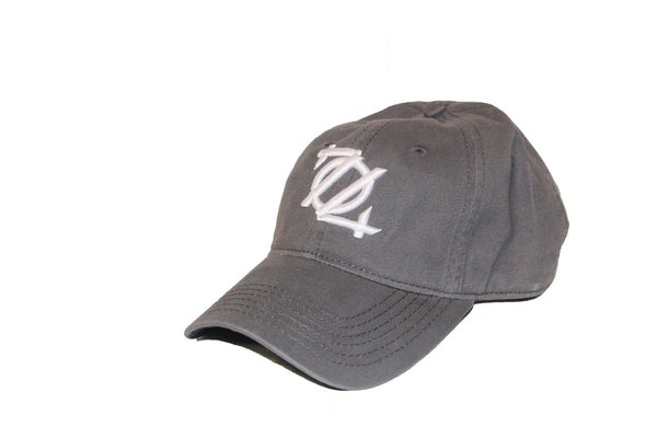 704 Shop Unstructured Hat - Charcoal/White