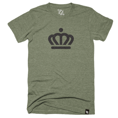 704 Shop x City of Charlotte - Official Crown Tee Olive (Unisex)