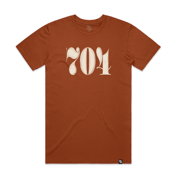 704 Shop Classic 704 Tee - Copper (Unisex)