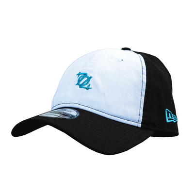 704 Shop X New Era Micro Logo 920 Dad Hat (Black/White/Blue)
